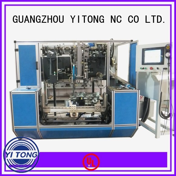 axis drilling Yitong paint brush manufacturing machine