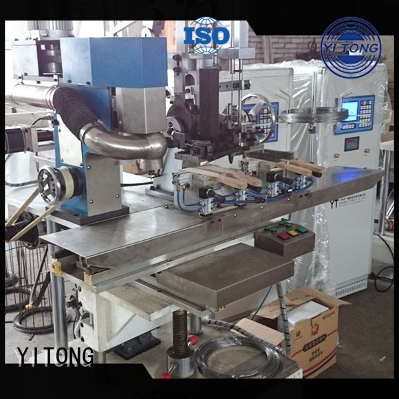 Wholesale axis wire brush machine for wood for sale Yitong Brand