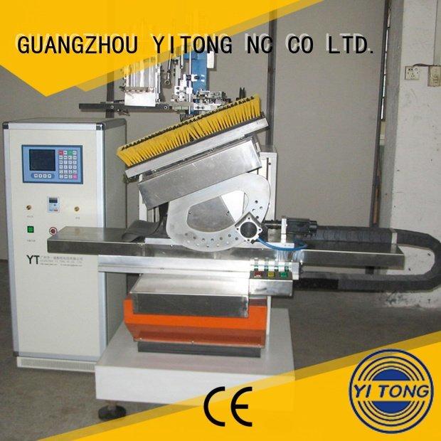 machine drilling Yitong paint brush manufacturing machine