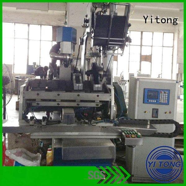 Yitong paint brush manufacturing machine flat brushes machine filling