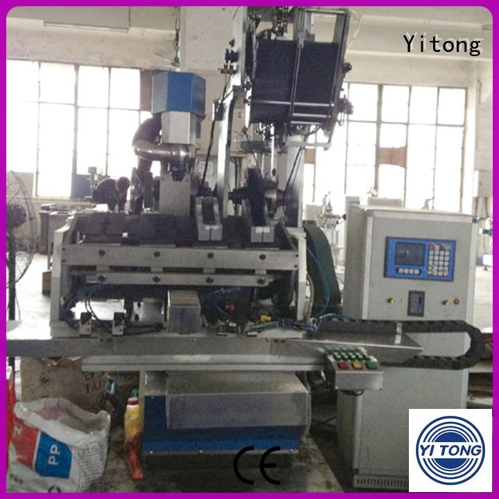 paint brush manufacturing machine brushes automatic drilling head