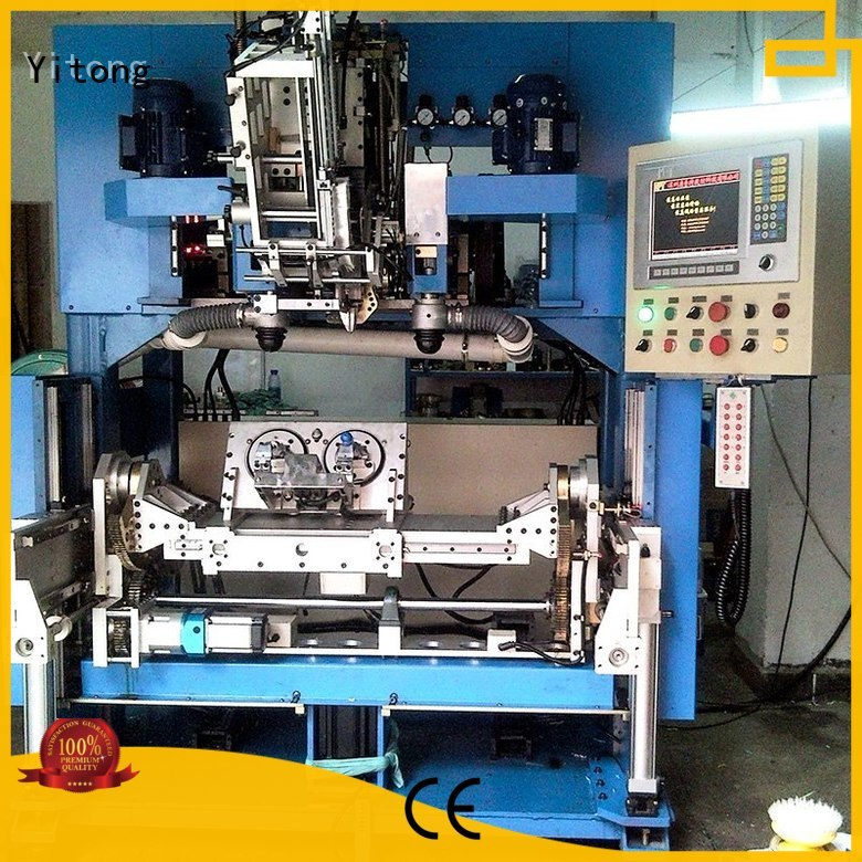 Yitong Brand axis brush paint brush manufacturing machine brushes supplier