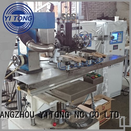 wire brush machine for wood for sale filling axis OEM industrial brush machine Yitong