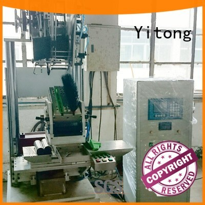 Hot filling brush tufting machine well functioning axis Yitong Brand