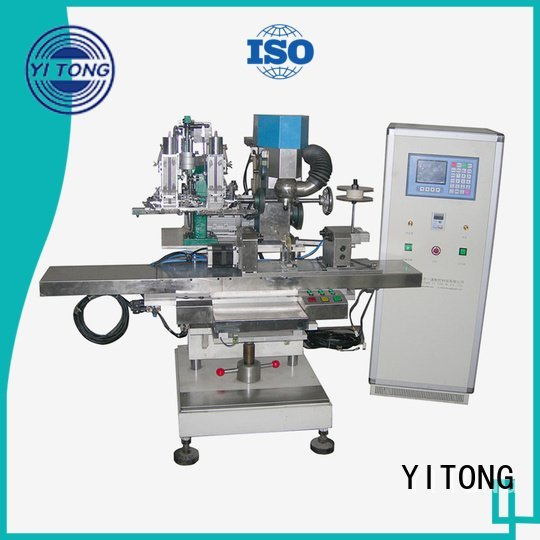 Yitong Brand automatic filling broom making machine drilling brush