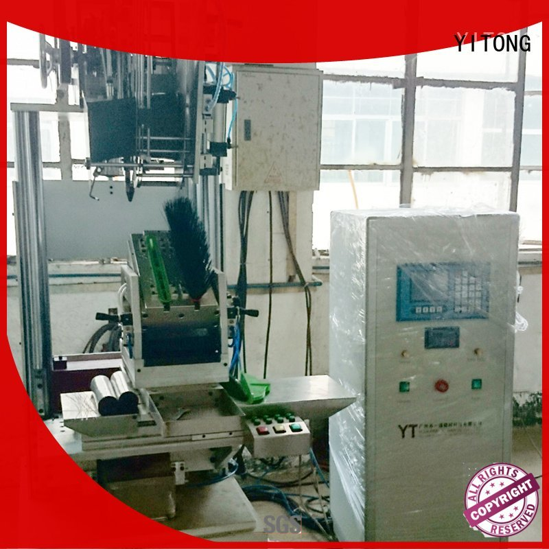 Quality brush tufting machine manufacturers Yitong Brand axis brush tufting machine