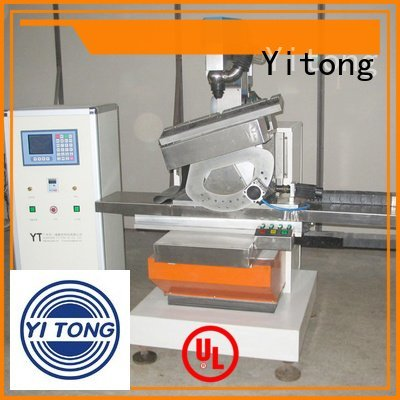 Yitong paint brush manufacturing machine drilling filling machine