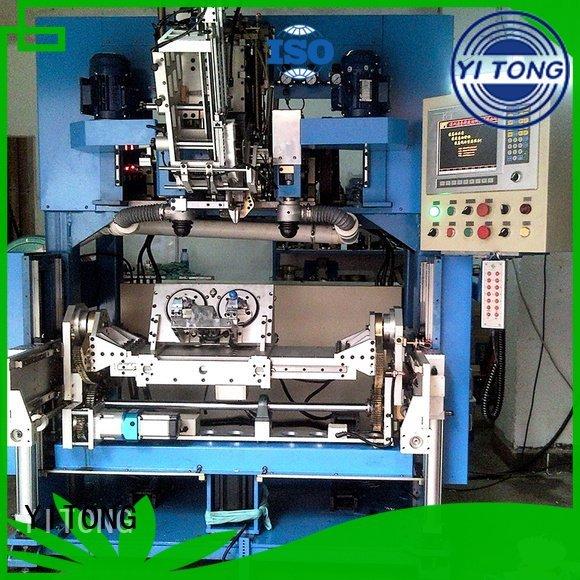 Yitong Brand flat brush tufting brush making machine drilling