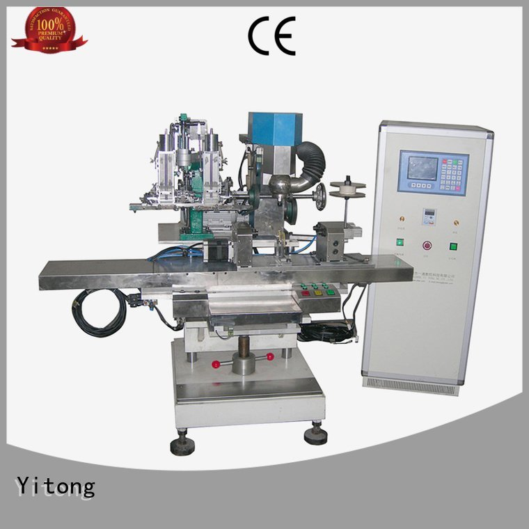Yitong broom making machine for sale drilling brushes filling automatic
