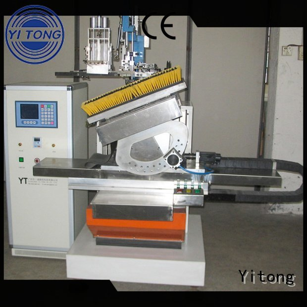 Yitong Brand axis flat filling brush making machine automatic