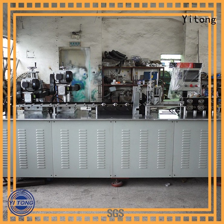 automatic professional steel strip brush Yitong manufacture