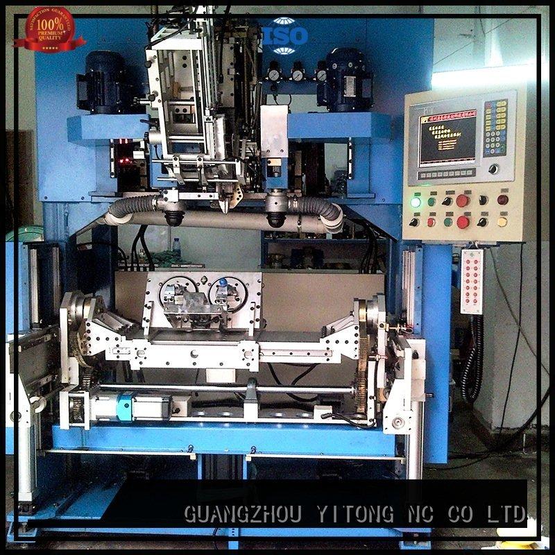 Yitong brush making machine flat drilling axis head