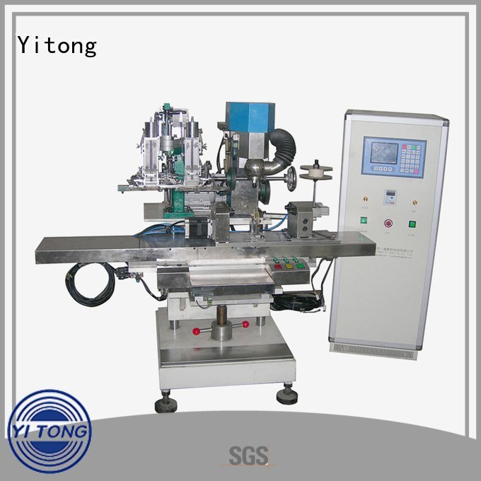 Hot broom making machine for sale radial automatic brush Yitong Brand