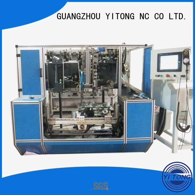 Yitong Brand axis filling drilling brush making machine