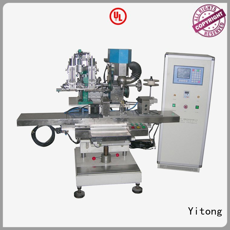 Yitong Brand radial broom making machine for sale automatic axis