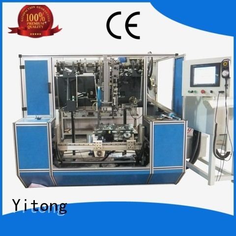 brush tufting flat Yitong Brand brush making machine