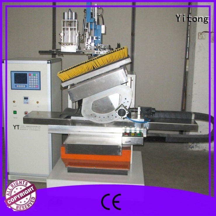 machine brush brush making machine drilling Yitong
