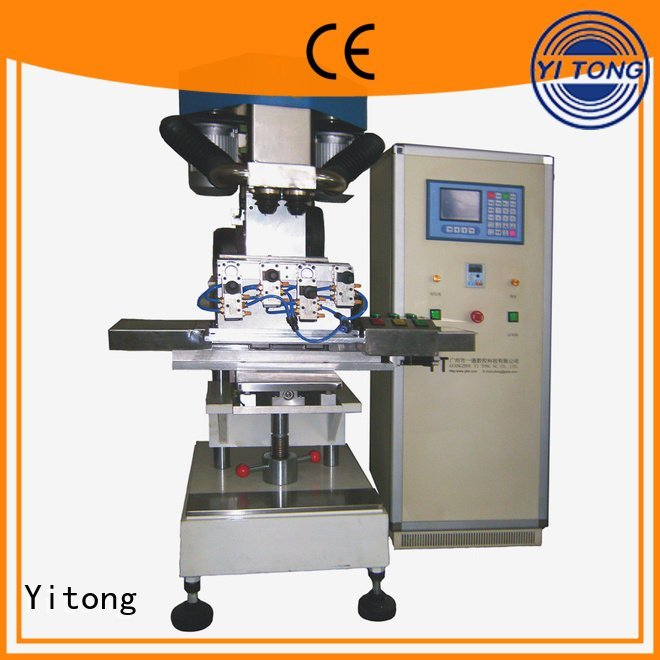Yitong Brand automatic axis filling broom making machine for sale