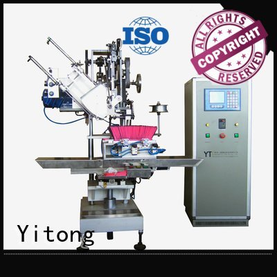 brushes radial filling Yitong broom making machine for sale