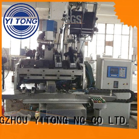 Yitong paint brush manufacturing machine brush machine drilling