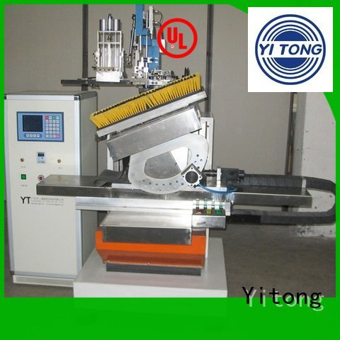 brush brush making machine drilling filling Yitong