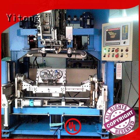 paint brush manufacturing machine drilling brushes Yitong Brand
