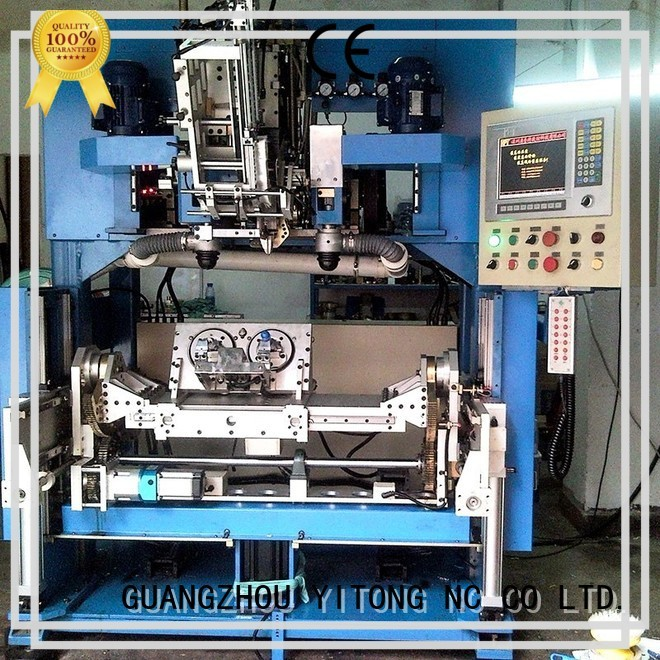 Yitong Brand automatic brushes flat top quality brush making machine