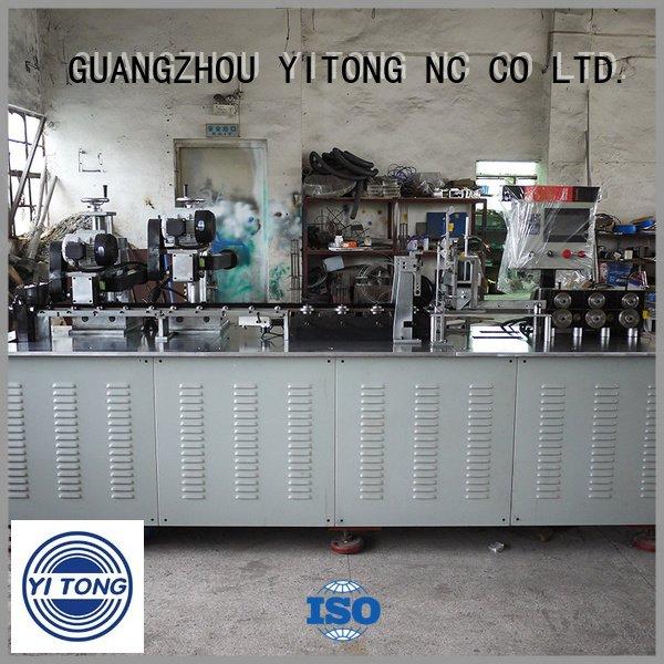 steel strip brush speed automatic OEM strip brush machine Yitong