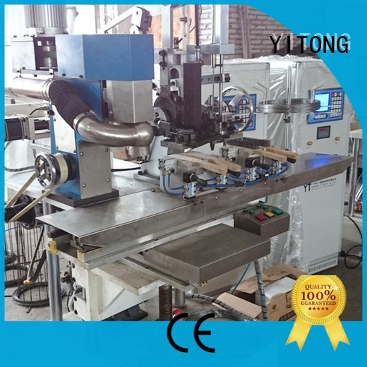 wire brush machine for wood for sale axis Yitong Brand industrial brush machine