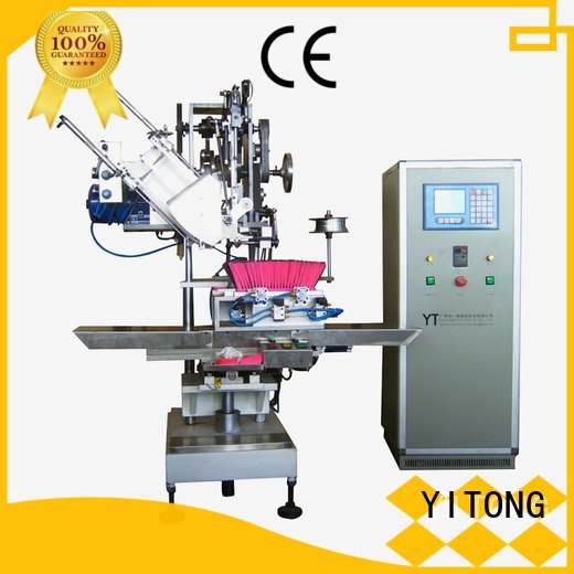 broom making machine for sale axis drilling broom making machine Yitong Warranty