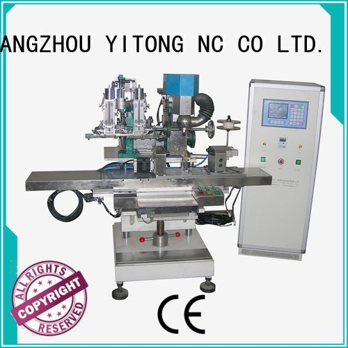 filling drilling axis Yitong broom making machine