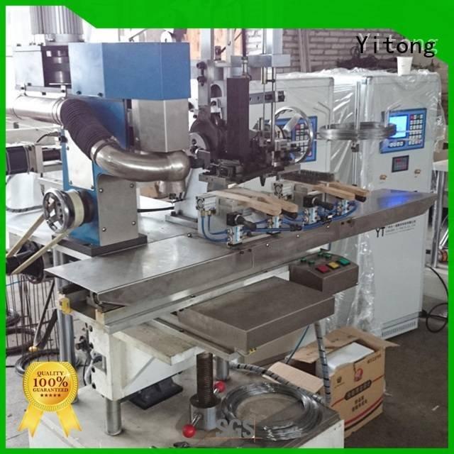 Hot wire brush machine for wood for sale brush industrial brush machine steel Yitong