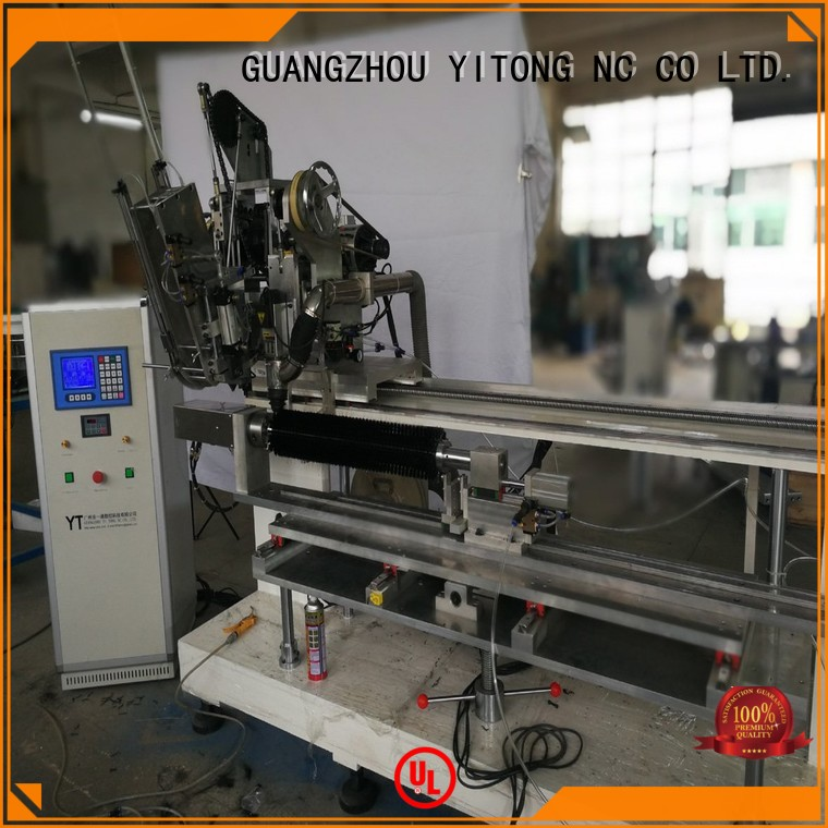 Hot drilling toothbrush manufacturing machine tufting Yitong Brand