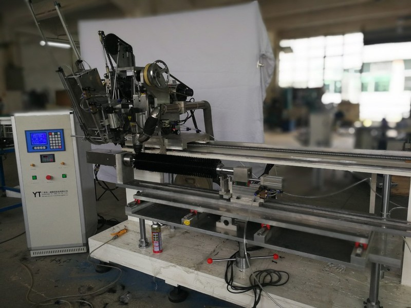 3 Axis Drilling And Tufting Round Brush Machine for Cylinder brush
