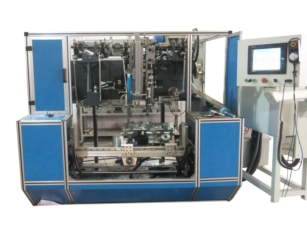 Yitong 3 Axis Drilling And Filling Disk Brush Making Machine image20