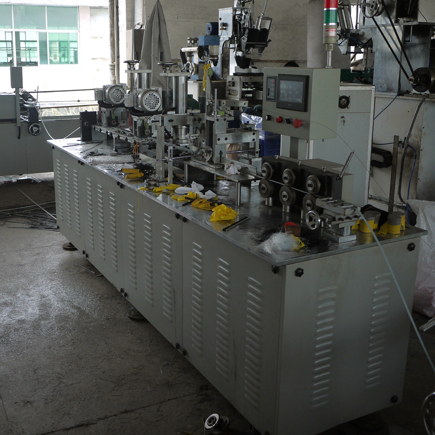 Strip brush machine