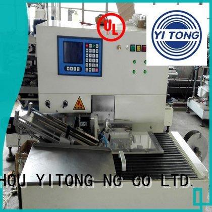 Yitong toothbrush making machine axis brush speed machine