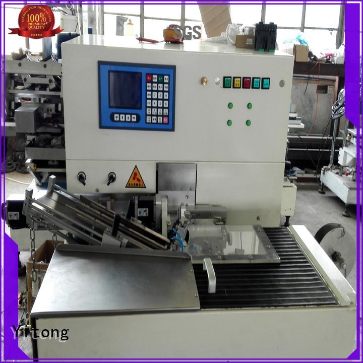 Yitong Brand tooth axis tufting toothbrush making machine