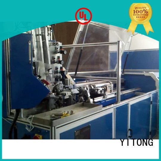 Yitong china brush machine machine twist brush automatic