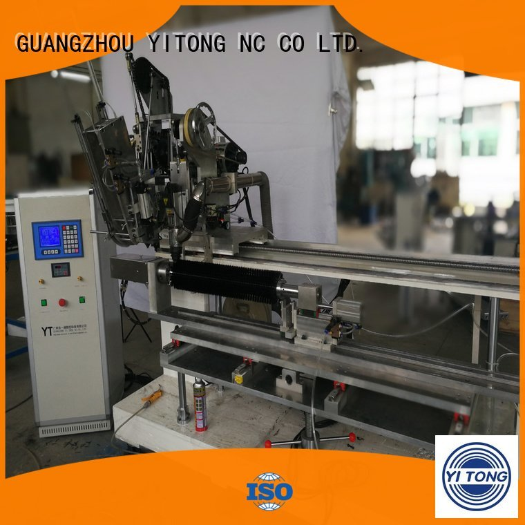 automatic drilling Yitong personal care brush machine axis drilling
