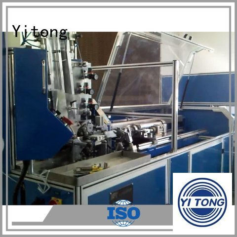 Yitong Brand wire brush twist brush machine automatic