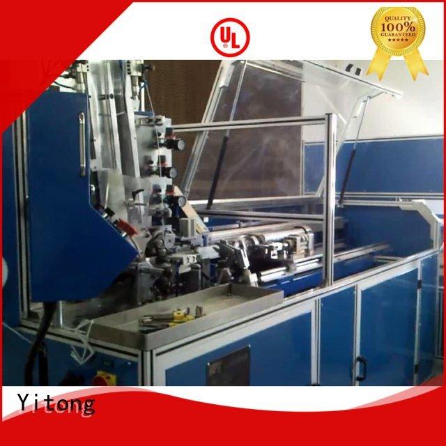 china brush machine making twist brush automatic Yitong