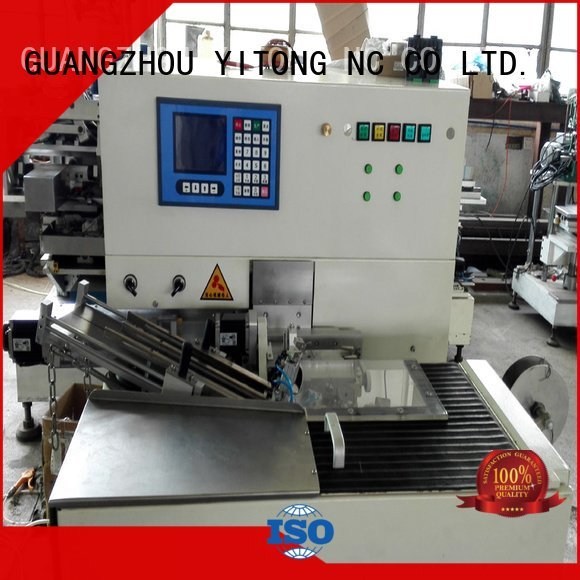 axis tufting brush toothbrush making machine Yitong